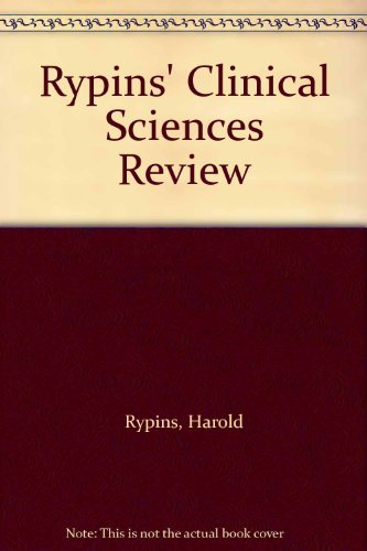9780397512461: Rypins' Clinical Sciences Review