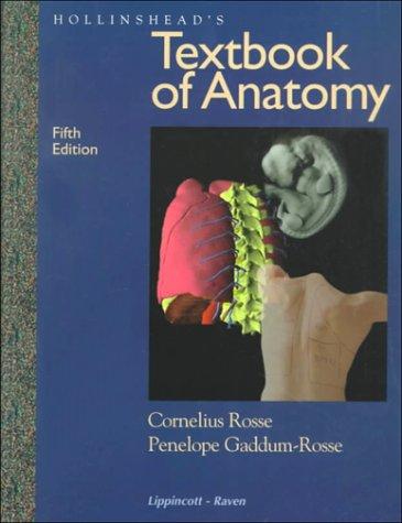 9780397512560: Hollinshead's Textbook of Anatomy