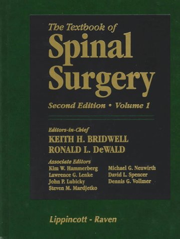 9780397513840: The Textbook of Spinal Surgery