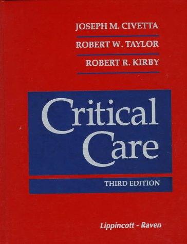 9780397515271: Critical Care, 3rd Edition