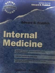 9780397515486: Internal Medicine (Rypins' Intensive Reviews)