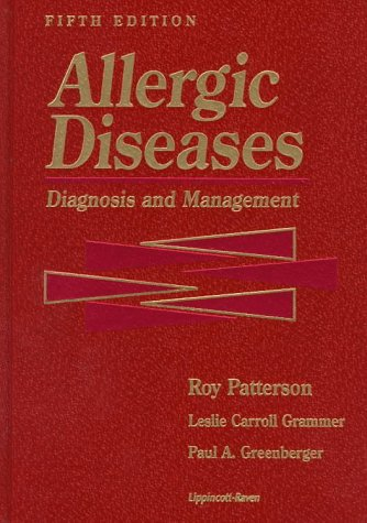9780397516094: Allergic Diseases: Diagnosis and Management