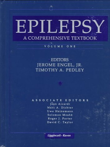 9780397516391: Epilepsy: A Comprehensive Textbook (Books)