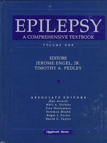 9780397516391: Epilepsy: A Comprehensive Textbook (Books)
