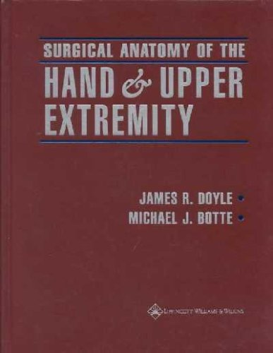 9780397517251: Surgical Anatomy of the Hand and Upper Extremity