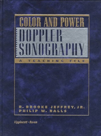 9780397517794: Color and Power Doppler Sonography: A Teaching File