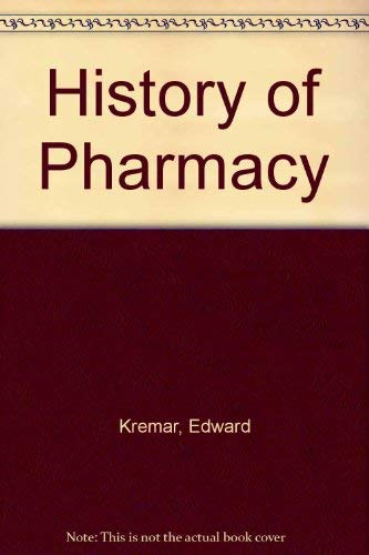 9780397520121: History of Pharmacy