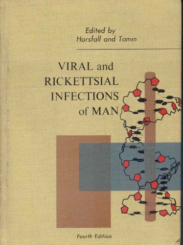 9780397520244: Viral and Rickettsial Infections of Man