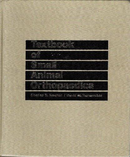 9780397520985: Textbook of Small Animal Orthopedics