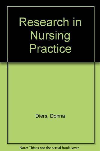 9780397542215: Research in nursing practice