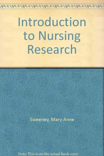 9780397542635: Introduction to Nursing Research