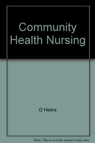 Community Health Nursing Theory And Process