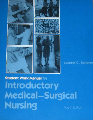 9780397545094: Introductory Medical-Surgical Nursing