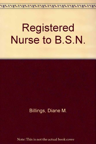 Rn to Bsn: Review and Challenge Tests/Book: Diane M. Billings,