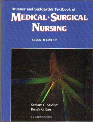 9780397547975: Brunner and Suddarth's Textbook of Medical-Surgical Nursing