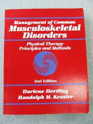 9780397548057: Management of Common Musculoskeletal Disorders: Physical Therapy Principles and Methods