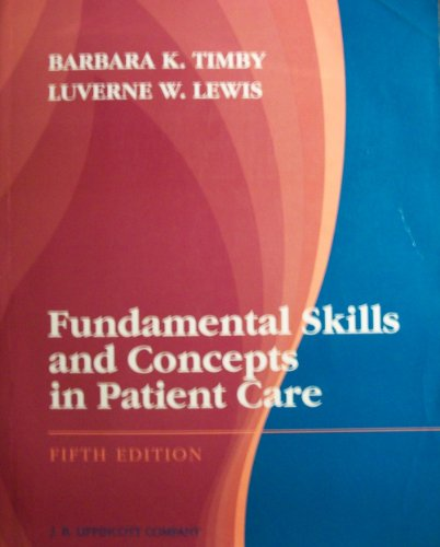 9780397548484: Fundamental Skills and Concepts in Patient Care