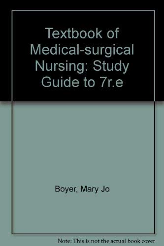Study Guide to Brunner and Suddarth's Textbook: Mary Jo Boyer