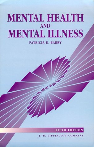 9780397550135: Mental Health and Mental Illness