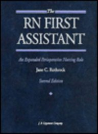 9780397550142: RN First Assistant: An Expanded Perioperative Nursing Role
