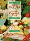 9780397550876: Food Values of Portions Commonly Used