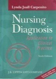 9780397551590: Nursing Diagnosis: Application to Clinical Practice