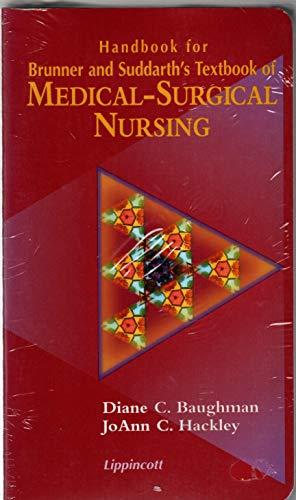 9780397551620: Handbook for Brunner and Suddarth's Textbook of Medical-Surgical Nursing