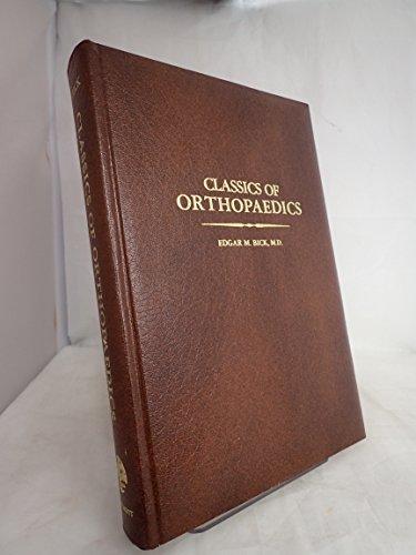 9780397581948: Classics of orthopaedics