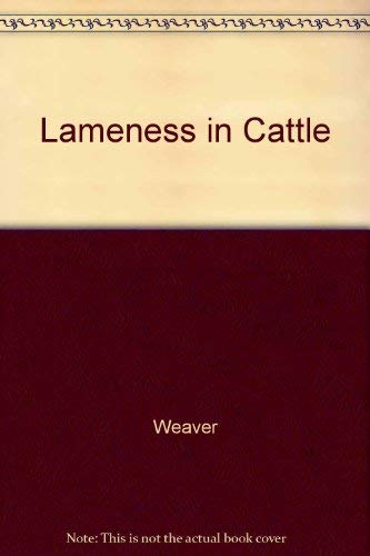 9780397582822: Lameness in Cattle