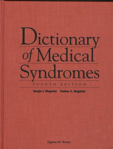 9780397584185: Dictionary of Medical Syndromes