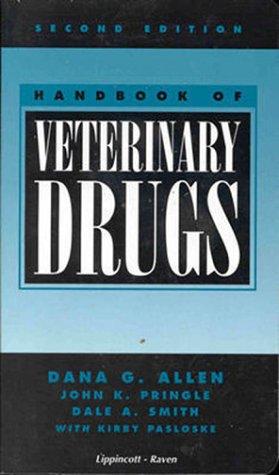 9780397584352: Handbook of Veterinary Drugs