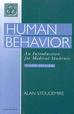 9780397584611: Human Behavior: An Introduction for Medical Students
