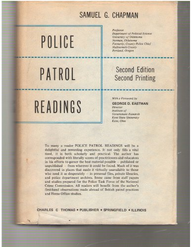 Police Patrol Readings: Samuel G. Chapman