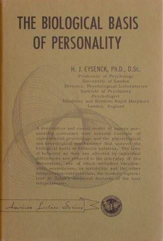 9780398005382: The Biological Basis of Personality,