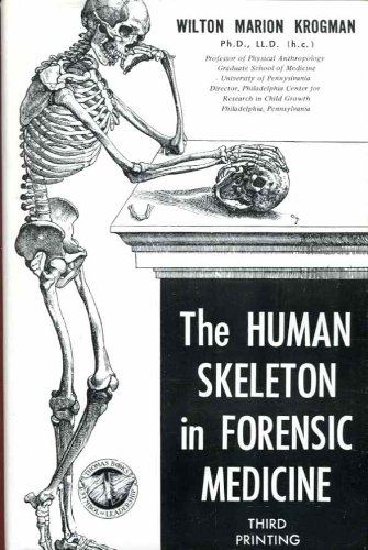 9780398010546: The Human Skeleton in Forensic Medicine.