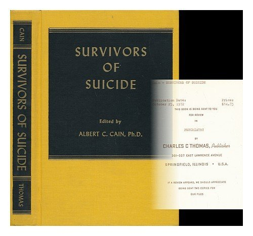 9780398022525: Survivors of Suicide.