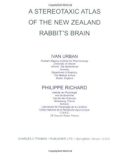 9780398024314: Stereotaxic Atlas of the New Zealand Rabbit's Brain (Illustrated)