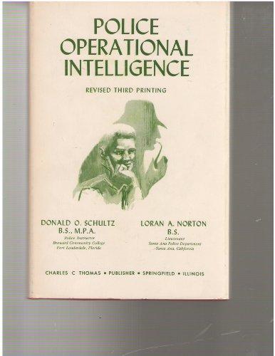9780398028329: Police Operational Intelligence