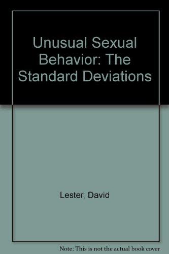 Unusual Sexual Behavior: The Standard Deviations: Lester, David
