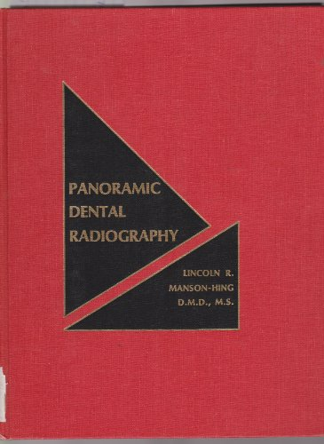 Panoramic dental radiography: Manson-Hing, Lincoln R
