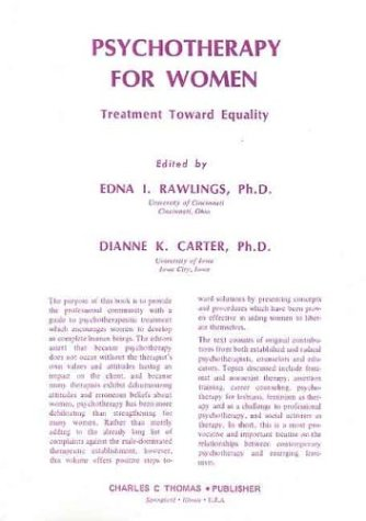 9780398035846: Psychotherapy for Women: Treatment Toward Equality