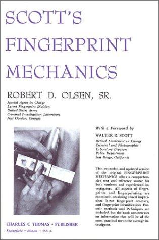 9780398037307: Scott's Fingerprint Mechanics