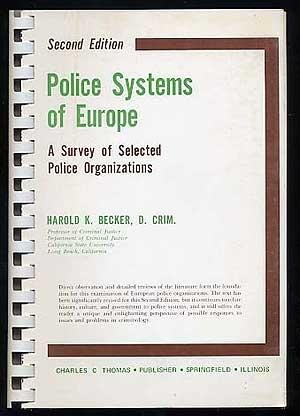 9780398040239: Police systems of Europe: A survey of selected police organizations by