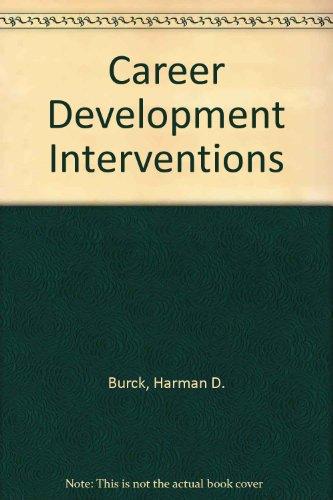 9780398049294: Career Development Interventions