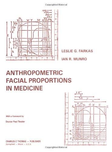 9780398052614: Anthropometric Facial Proportions in Medicine
