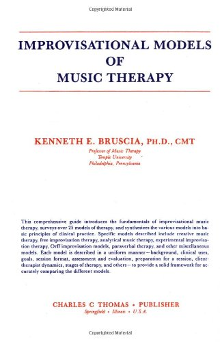 9780398052720: Improvisational Models of Music Therapy
