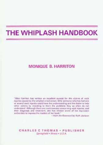 9780398055981: The Whiplash Handbook