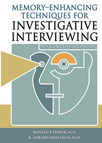 9780398058005: Memory-Enhancing Techniques for Investigative Interviewing: The Cognitive Interview
