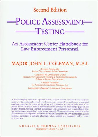 9780398060657: Police Assessment Testing (An Assessment Center Handbook for Law Enforcement Personnel)