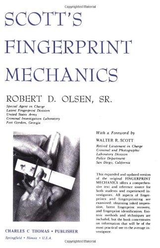 9780398063085: Scotts Fingerprint Mechanics